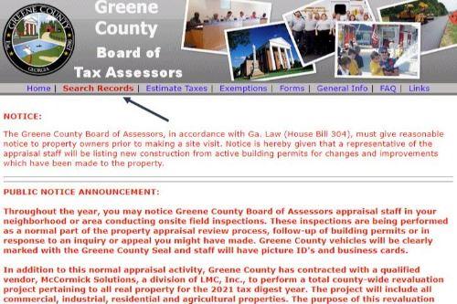 Homestead Exemption Step 1