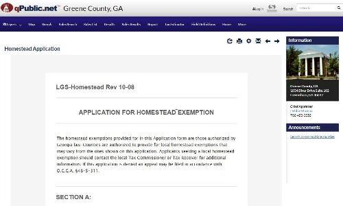 Homestead Exemption Step 4